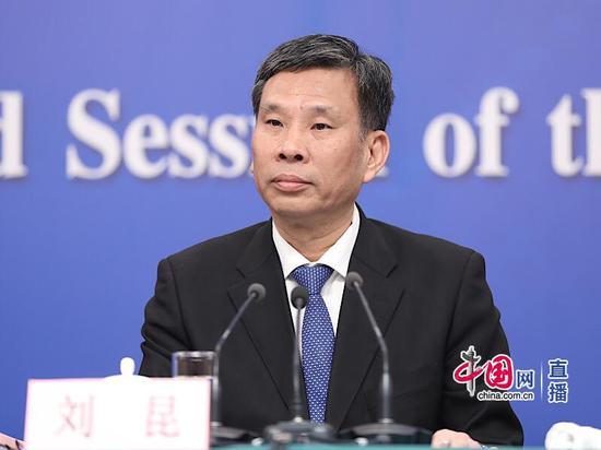 财政部部长刘昆